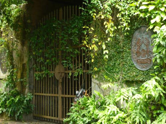 The Banjaran Hotsprings Retreat: Jeff's Cellar entrance - very medieval looking