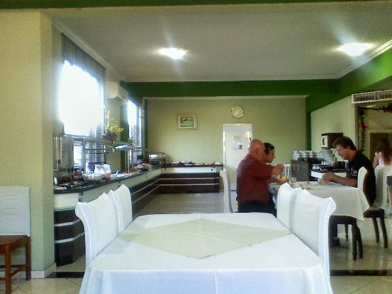 Hotel Real: vista del lugar de desayuno