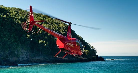 Mayor Island Tauranga - Aerius Helicopters