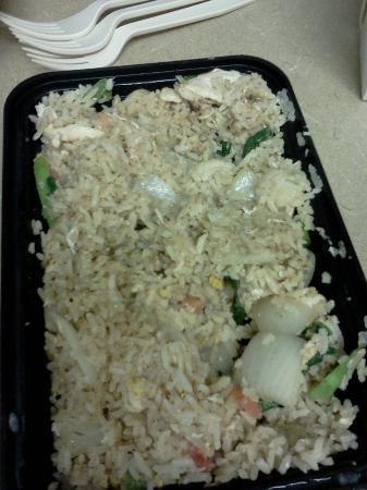 Tamarind : fried rice with chicken