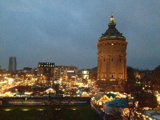 Maritim Parkhotel Mannheim: View from my room