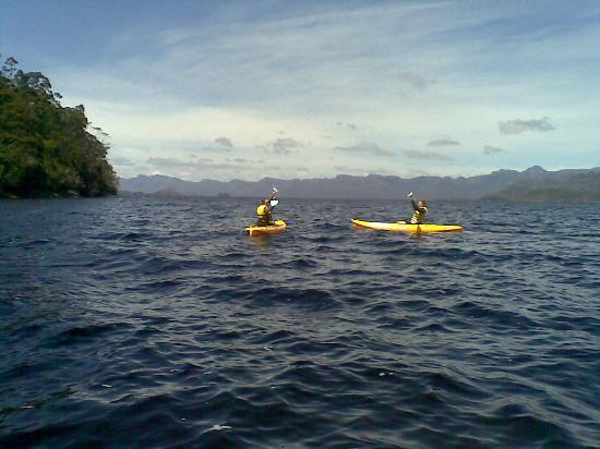 New Norfolk, Australien: kayaking