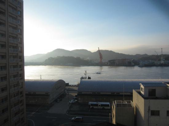 Onomichi Kokusai Hotel: 朝日