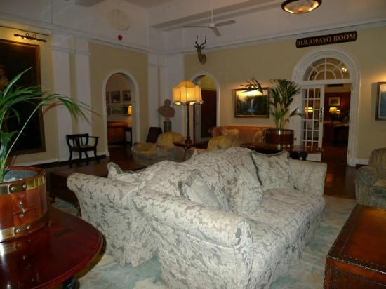 The Victoria Falls Hotel: More sitting area