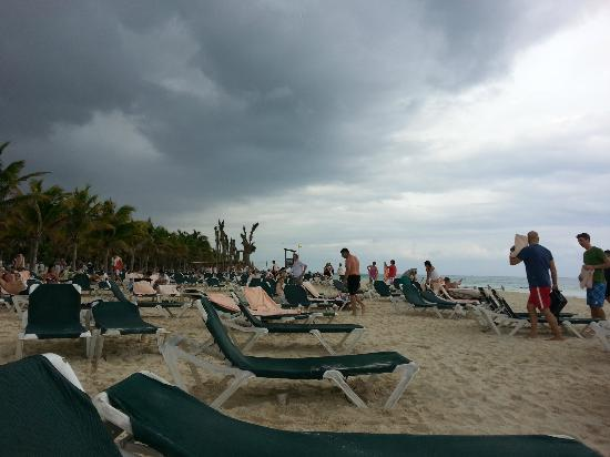 ClubHotel Riu Tequila: Clouds Coming