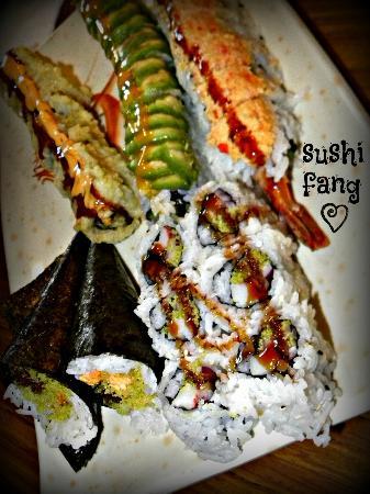Sushi Fang: yummy