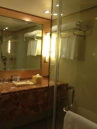 Prince (Marco Polo Hotels): big shower room
