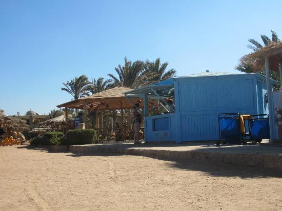 Hilton Hurghada Plaza: Пляж