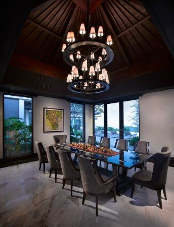 Banyan Tree Ungasan, Bali: Presidential Villa: Dining Room