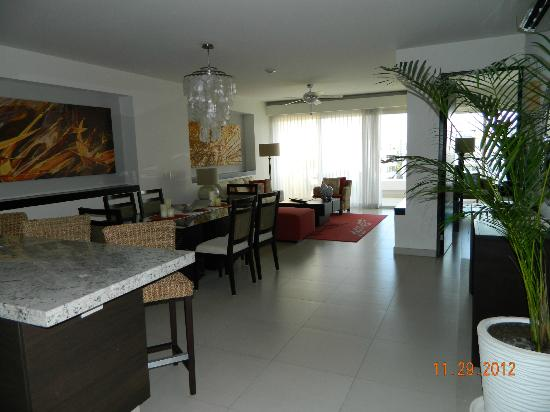 Marival Residences Luxury Resort Nuevo Vallarta: living area.