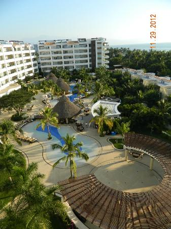 Marival Residences Luxury Resort Nuevo Vallarta: View from room 606.