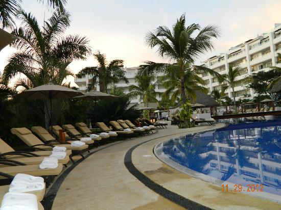 Marival Residences Luxury Resort Nuevo Vallarta: one of the pools.