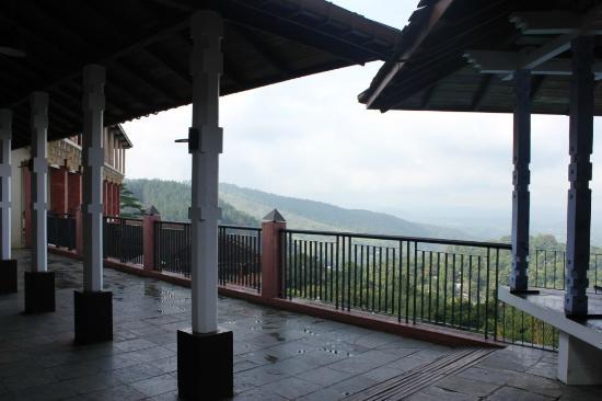 Amaya Hills: Panoramic view from hotel balcony upstairs