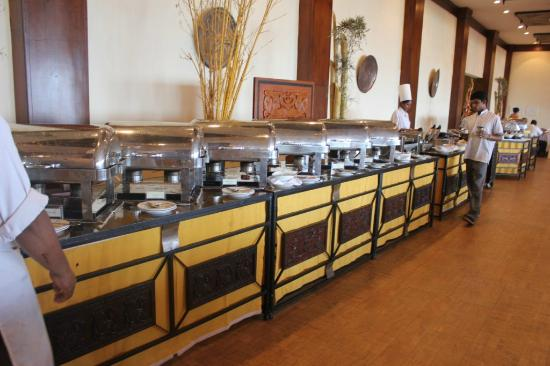 Amaya Hills: Breakfast buffet