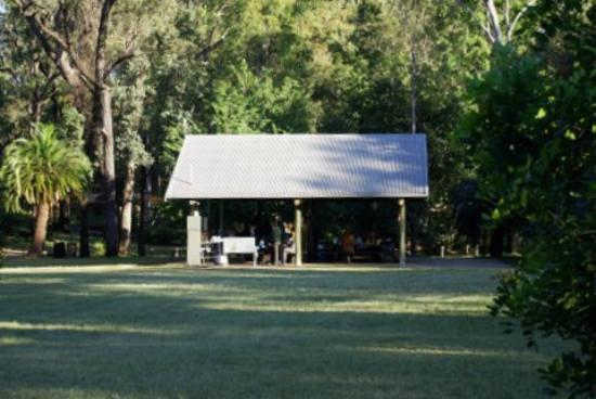 Takarakka Bush Resort & Caravan Park: Outdoor area