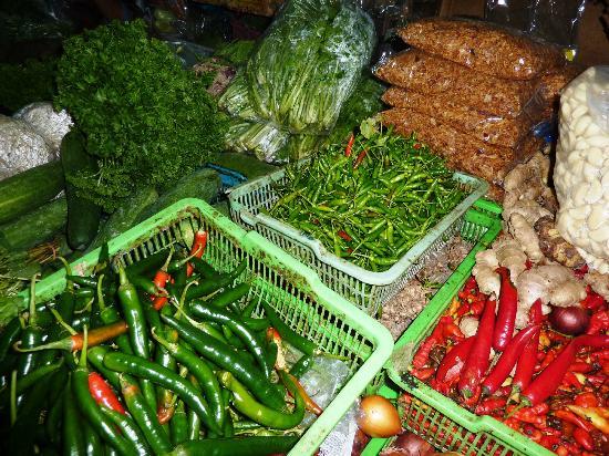 Pasar Badung: attention ça pique!