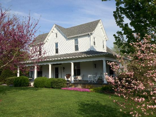 1898 Red Bud Bed & Breakfast: Home away from home!