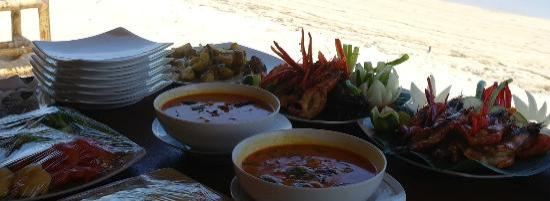 Solah Beach Bar and Restaurant : Special occasion