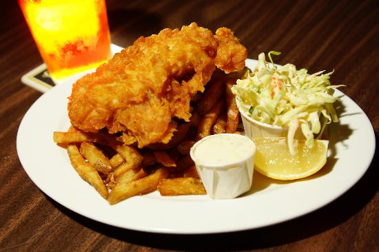 Batter Up! Fish and Chips
