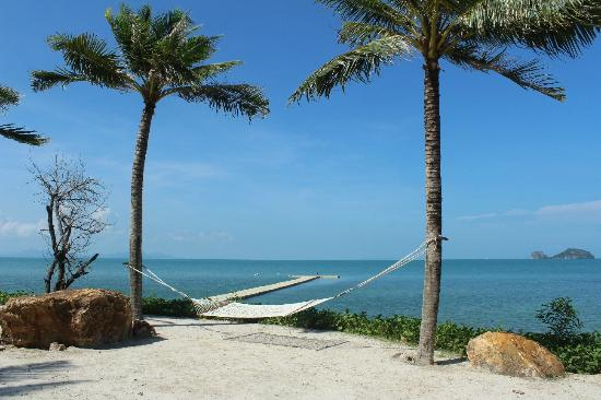 Conrad Koh Samui Resort & Spa: Hammock by the beach