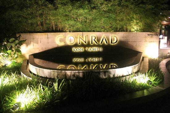 Conrad Koh Samui Resort & Spa: Welcome Lobby