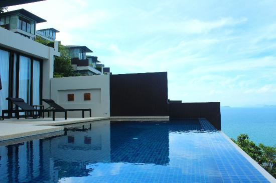 Conrad Koh Samui Resort & Spa: View from the pool