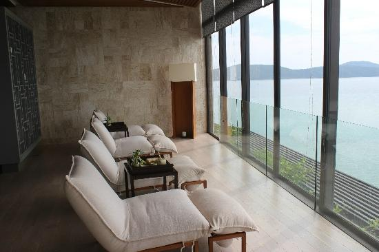 Conrad Koh Samui: View from the Spa