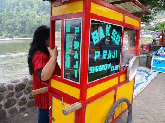 Magetan, Indonesia: Makanan favorit di Sarangan