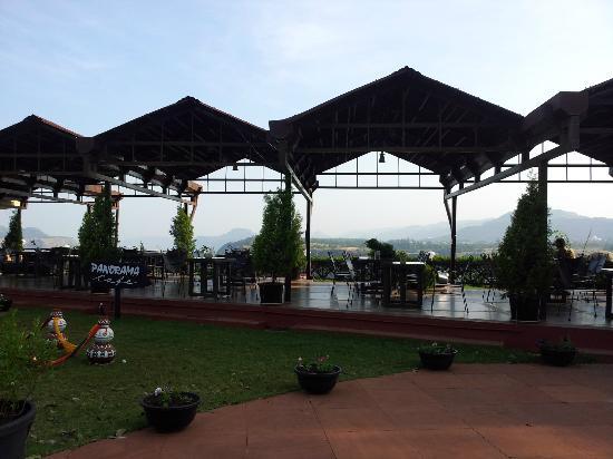 Breakfast Area By The Pool Picture Of The Dukes Retreat Khandala Tripadvisor