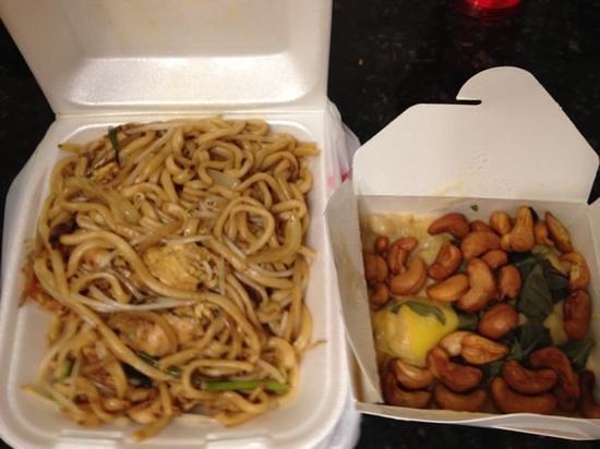 fu kee restaurant: shanghai noodle & mango chicken