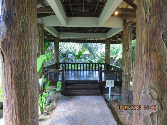 Felda Residence Hot Springs: jacuzzi area