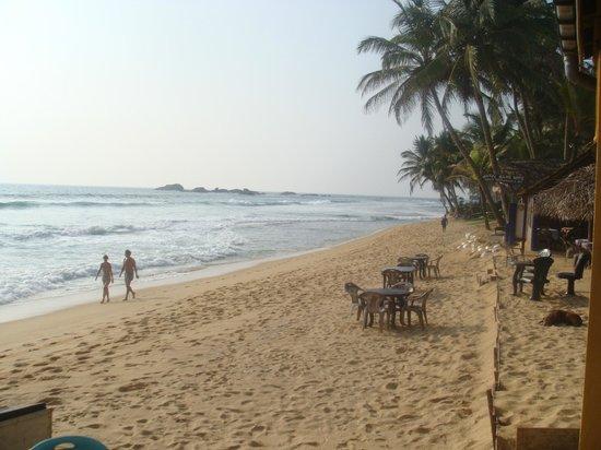 Sea Rock Villa : plage