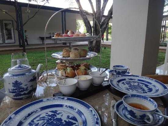 Anantara Chiang Mai Resort: high tea. only AUD$15 per person...great value