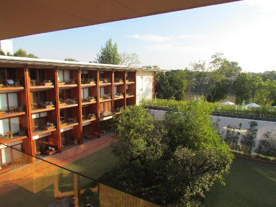 Anantara Chiang Mai Resort: view from the room