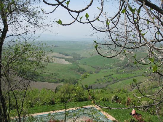 Agriturismo Podere Fraggina: het uitzicht!