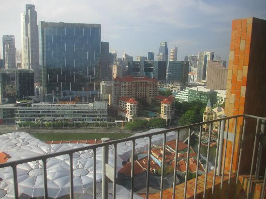 Novotel Singapore Clarke Quay : View from our room
