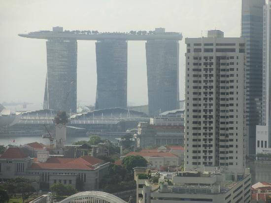 Novotel Singapore Clarke Quay : View from our room (zoomed in)