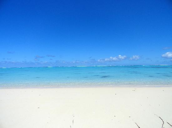 تامانو بيتش: le lagon 