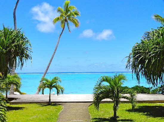 Tamanu Beach: vue du restaurant
