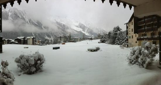Les Balcons Du Savoy: Panorama view from room