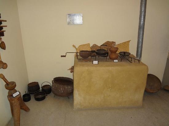 Museu do Sertao : Reprodução do interior de uma casa de sertanejo