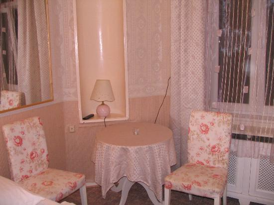 Pension Bella: Living part of the room