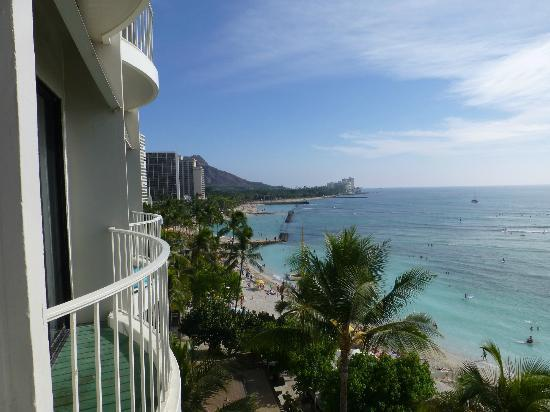 Moana Surfrider, A Westin Resort & Spa: From balcony