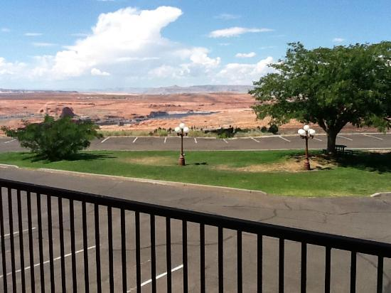 Quality Inn at Lake Powell: La vista dal balcone della camera