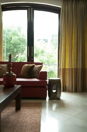 Secludecity - Safdarjung Enclave : Living area