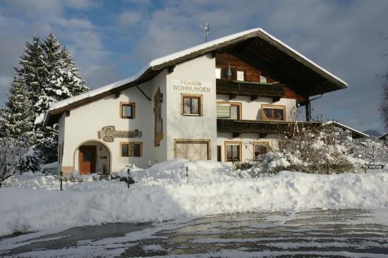Landhaus Kitzbichler: Landhaus - Ansicht von Westen