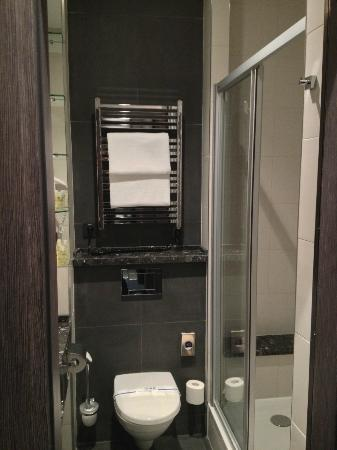 Mercure Kyiv Congress: Clean bathroom