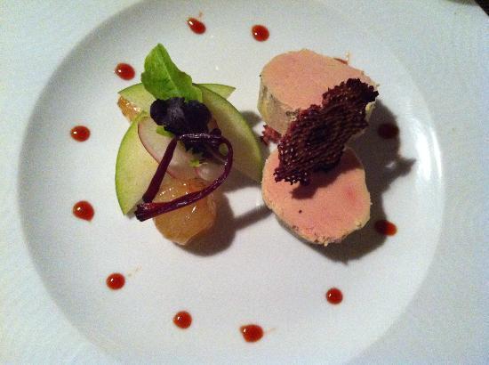 L'Angle Saint Laurent : Duck foie gras