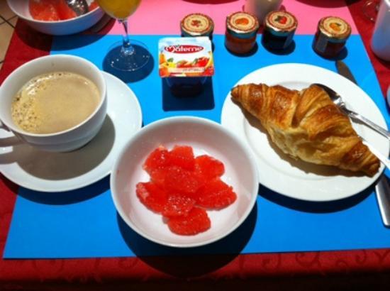 Hotel Diana: 朝食はビュッフェ式