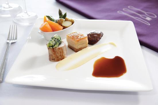 Restaurant VMF: Pork 3 Ways